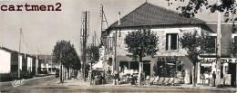 LES CLAYES-SOUS-BOIS GRANDE CARTE 22 X 9 CM RUE MAURICE-JOUET PLACE REPUBLIQUE YVELINES EDITIONS DE LUXE  ESTEL LAVELLE - Les Clayes Sous Bois
