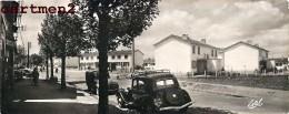 LES CLAYES-SOUS-BOIS GRANDE CARTE 22 X 9 CM RUE MAURICE-JOUET JARDINS DES CLAYES AUTOMOBILE EDITIONS ESTEL LAVELLE 78 - Les Clayes Sous Bois