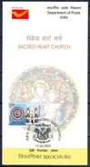 J204- Brochure Of India 2009. Sacred Heart Church. Architecture. - Covers & Documents