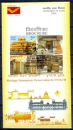 J206- Brochure Of India 2009 Heritage Building Preservation INTACH. - Covers & Documents