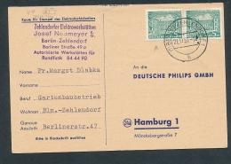 Berlin -  -Beleg  (t2509    ) Siehe Bild ! - [5] Berlin