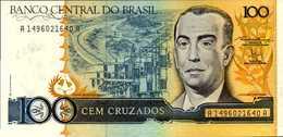 BRESIL 100 CRUZADOS  De 1986nd  Pick 211b  UNC/NEUF - Brésil