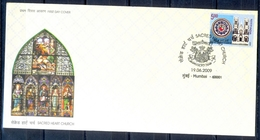 J226- FDC Of India 2009. Sacred Heart Church. Architecture. - Covers & Documents