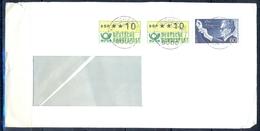 J221- Deutschland Germany Postal History Post Card. ATM Machine Label Stamp. - Machine Stamps (ATM)
