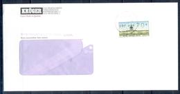J226- Deutschland Germany Postal History Post Card. ATM Machine Label Stamp. - Machine Stamps (ATM)