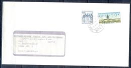 J257- Deutschland Germany Postal History Post Card. ATM Machine Label Stamp. - Machine Stamps (ATM)