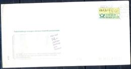 J260- Deutschland Germany Postal History Post Card. ATM Machine Label Stamp. - Machine Stamps (ATM)