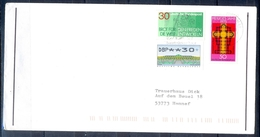 J265- Deutschland Germany Postal History Post Card. ATM Machine Label Stamp. - Machine Stamps (ATM)