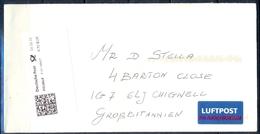 J268- Deutschland Germany Postal History Post Card. ATM Machine Label Stamp. - [6] Democratic Republic