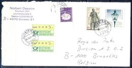 J271- Deutschland Germany Postal History Post Card. ATM Machine Label Stamp. - [6] Democratic Republic
