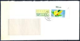 J274- Deutschland Germany Postal History Post Card. ATM Machine Label Stamp. - Machine Stamps (ATM)