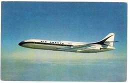 CPSM AVION CARAVELLE AIR FRANCE - 1946-....: Ere Moderne