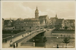 AK Stuttgart Bad Cannstatt, Wilhelmsbrücke, Um 1941 (18211) - Stuttgart