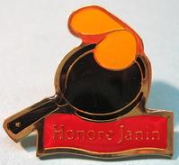 PIN'S HONORE JANIN - Alimentation