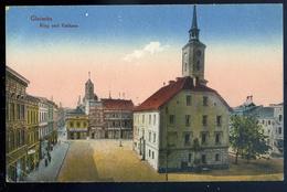 Cpa De Pologne  Gleiwitz Ring Und Rathaus ....  Gliwice NCL85 - Poland