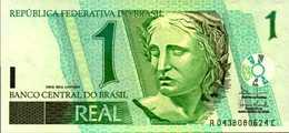 BRESIL 1 REAL  De 2003nd  Pick 243A? UNC/NEUF - Brésil