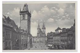 TCHEQUIE -- PRAGUE -- PLACE DE LA VIEILLE VILLE -- NON CIRCULEE -- - Tsjechië