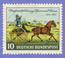GER SC #692 MNH  1952 Thurn And Taxis, CV $7.25 - [7] Federal Republic