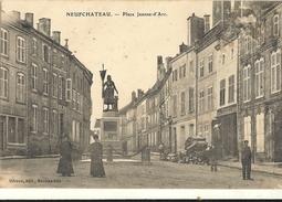 NEUFCHATEAU  -  Place Jeanne D´arc  89 - Neufchateau