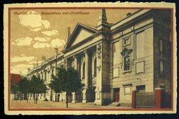 Cpa De Pologne Beuthen O.-S. Konserthaus Und Stadttheater    NCL86 - Poland