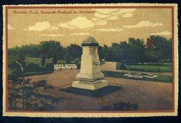 Cpa De Pologne Beuthen O.-S. Bismarck Denkmal Im Stadtpark    NCL86 - Poland