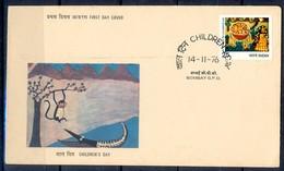 J295- India 1976. Children's Day. Painting. - India