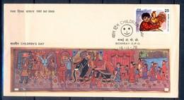 J296- India 1978. Children's Day. Painting. - India