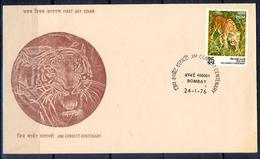 J301- India 1976. Jim Corbett Centenary. - India