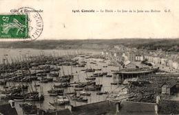 CANCALE -35- LA HOULE LE JOUR DE LA JETEE AUX HUITRES - Cancale