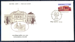 J308- India 2000. 75th Anniversary Of Patna Medical College. - India