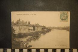 CP, 51,   MARCILLY SUR SEINE - Les Quais - France