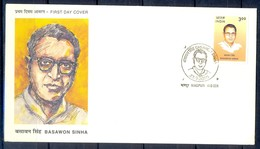 J325- India 2000. Basawon Sinha, Revolutionary And Trade Unionist. - Covers & Documents
