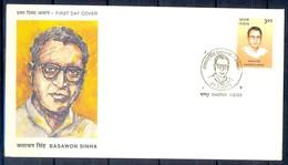 J325- India 2000. Basawon Sinha, Revolutionary And Trade Unionist. - India