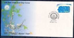 J332- India 2007. International Water Year, Nature, Environment Resourse. - India