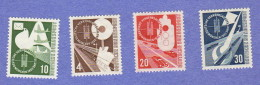 GER SC #698-701 MNH  1953 Transport And Communications Exhibition, CV $65.00 - [7] Federal Republic