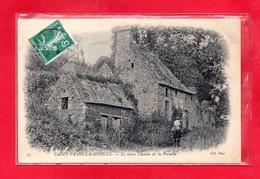 50-CPA SAINT VAAST LA HOUGUE - LE VIEUX CHEMIN DE LA PERNELLE - (N°318) - Saint Vaast La Hougue