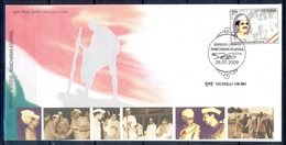J349- India 2009. Ramcharan Agarwal. Freedom Fighter & Social Worker. - Covers & Documents