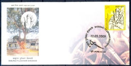 J352- India 2009. Baburao Puleshwar Shedmake. Revolutionary. - Covers & Documents
