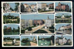 Cpa De Pologne Beuthen Multi Vues  NCL87 - Poland