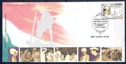 J363- FDC Of India 2009, Ramcharan Agarwal Freedom Fighter & Social Worker. Gandhi. Nehru. - India