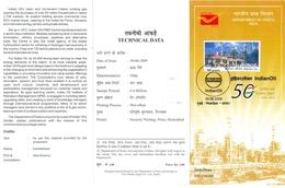 J365- Brochure Of  India 2009 Indian Oil Mineral Petroleum. Petrole Pump & Refinery. - India