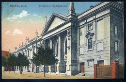 Cpa De Pologne Beuthen O.-S. Konserthaus Und  Stadttheater  NCL87 - Poland