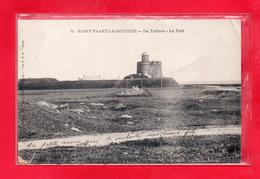 50-CPA SAINT VAAST LA HOUGUE - ILE DE TATIHOU - LE FORT - (N°335) - Saint Vaast La Hougue