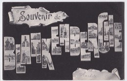 Blankenberghe Cpa Souvenir De Blankenberghe  Anno 1905 - Blankenberge