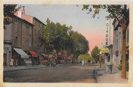 Montélimar - Faubourg St Saint James, Garage Citroën - Edition Combier - Carte CIM Colorisée - Montelimar