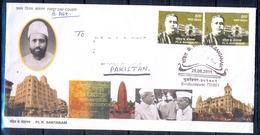 J384- Postal Used FDC Of India 2009. Pt. K. Santanam. - India