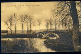 Cpa  Du 02  Vic Sur Aisne Le Pont Du Chemin De Fer Sur L' Aisne    NCL87 - Vic Sur Aisne