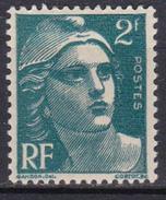 France - YT 713 - Marianne De Gandon (1945-47) - Vert - NEUF ETAT IMPECCABLE - France