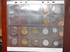 TUNISIE+EGYPTE ASSORTIMENT DE 13 MONNAIES - Monnaies & Billets