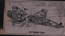 PLAN D'un NORTH AMERICAN X-15 Sur Papier Calque Signer LE GALL - Other Plans